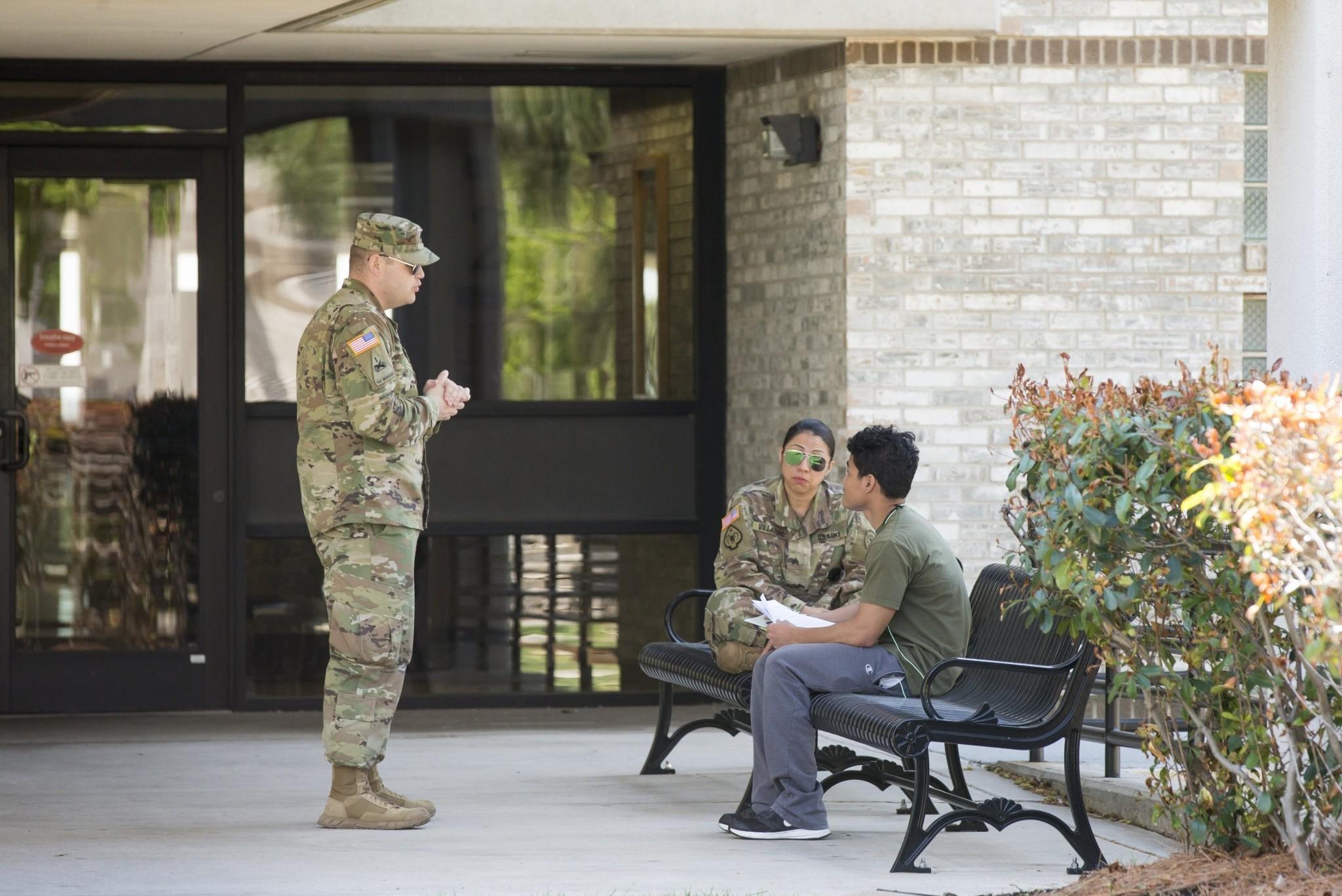 Recruiters at Oklahoma State University